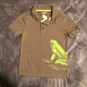 "Boys Old Navy ""Froggy"" Shirt. Size 5T."